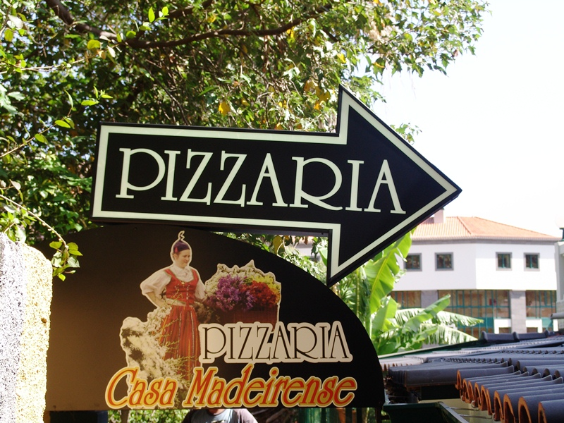 Pizzaria Casa Madeirense in Funchal, Madeira
