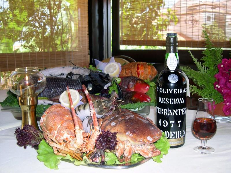 casa madeirense restaurant - fresh fish dishes in Funchal, Madeira