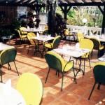 casa madeirense restaurant in Funchal, Madeira Island - terrace